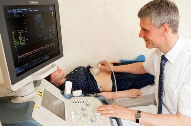 Ultraschalluntersuchung Prof. Dr. med. Andreas Josting